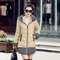 2016 Новые Моды для Женщин Зима Теплая Вниз Куртка Женская Куртка Пальто Женская Одежда горячие продажа