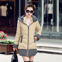 2016 New Fashion  Women  Winter  Warm Down Jacket Ladies  Parka Coat Women Clothes hot sale