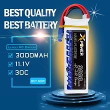 Lipo 11.1 v 3 s batterie 3000 mAh 30C max 35C EC3 Xpower batteries au lithium pour RC drone Helicoptes Avion pièces