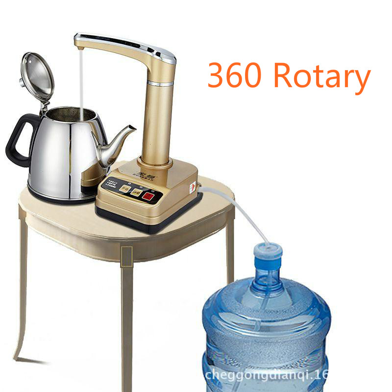 360 Rotary Electric Automatic Water Dispenser Pump Water Drinking Machine Bottled Cold Pure Water Suction Pressure