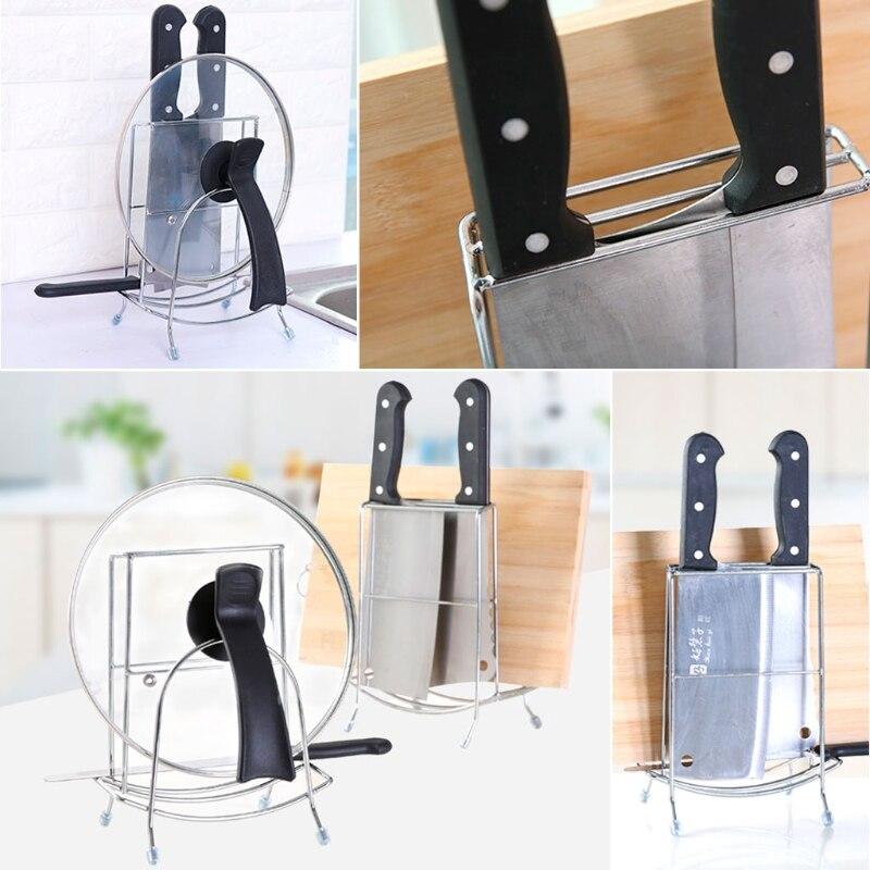 Neue Stahl Küche Veranstalter Speisekammer Rack Topf Deckel ...