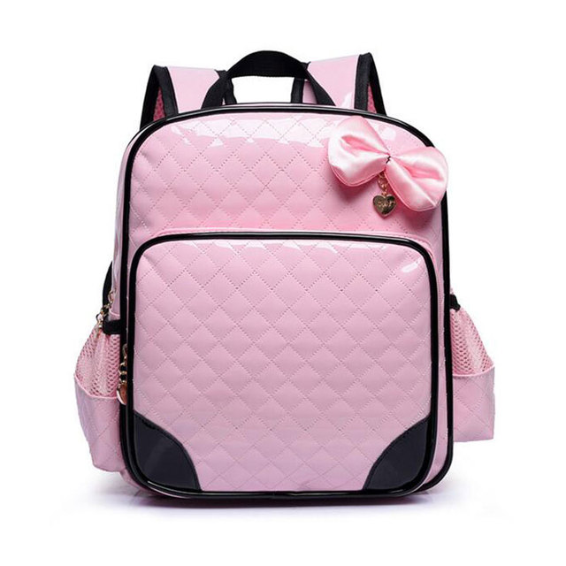 8e5e7fd13032 2017 New Design Cute Princess School Bags for Kid High Quality Waterproof PU  Leather Backpack for Boys Girls Students Daypacks