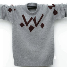 Winter Teenager Wool Sweaters Kids Pullover Cashmere Sweater Warm Children's Sweater Pullover Boys Girls Sweaters 100-180 cm children autumn and winter warm clothes boys and girls thick cashmere sweaters