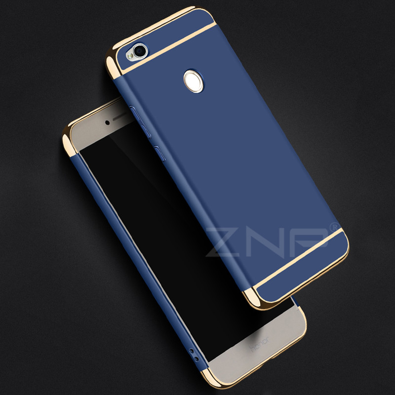 Image 5 - ZNP Luxury Hard Back Electroplate Shockproof Cases For Xiaomi Redmi 4X Case 4X Phone Cover For Redmi 4X Case Protective shell-in Phone Bumpers from Cellphones & Telecommunications