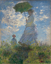 Home Wall Painting Claude Monet Camille and son Jean On The Hill For Decoration Canvas Reproduction Custom
