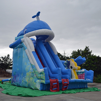 Inflatable Slide Water Park Children Entertainment Product Water Toy