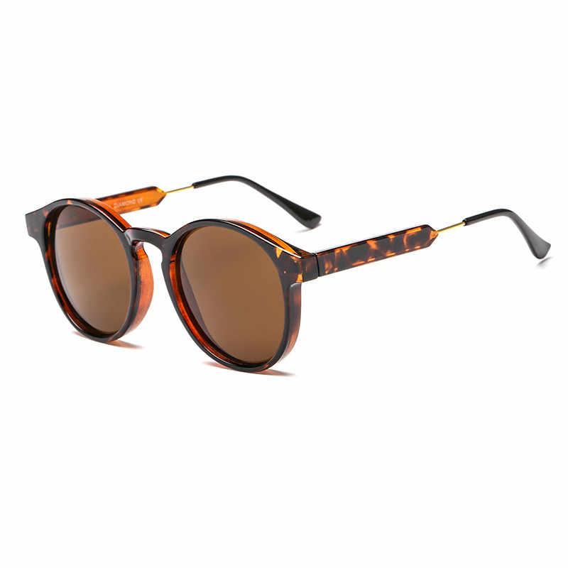 Ywjanp 2018 nowe okulary przeciwsłoneczne damskie marka projekt wysokiej jakości w stylu vintage okrągłe okulary przeciwsłoneczne duże pudełko turystycznych jazdy kobiece okulary