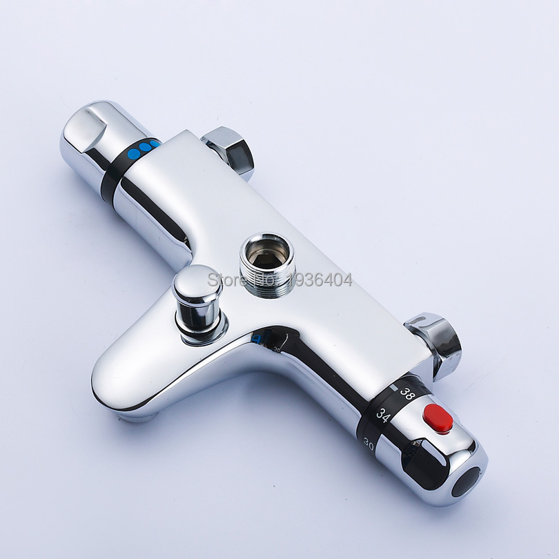 high quality mixing valve temperature control shower valve faucet shower pipe thermostat valve wall mounted