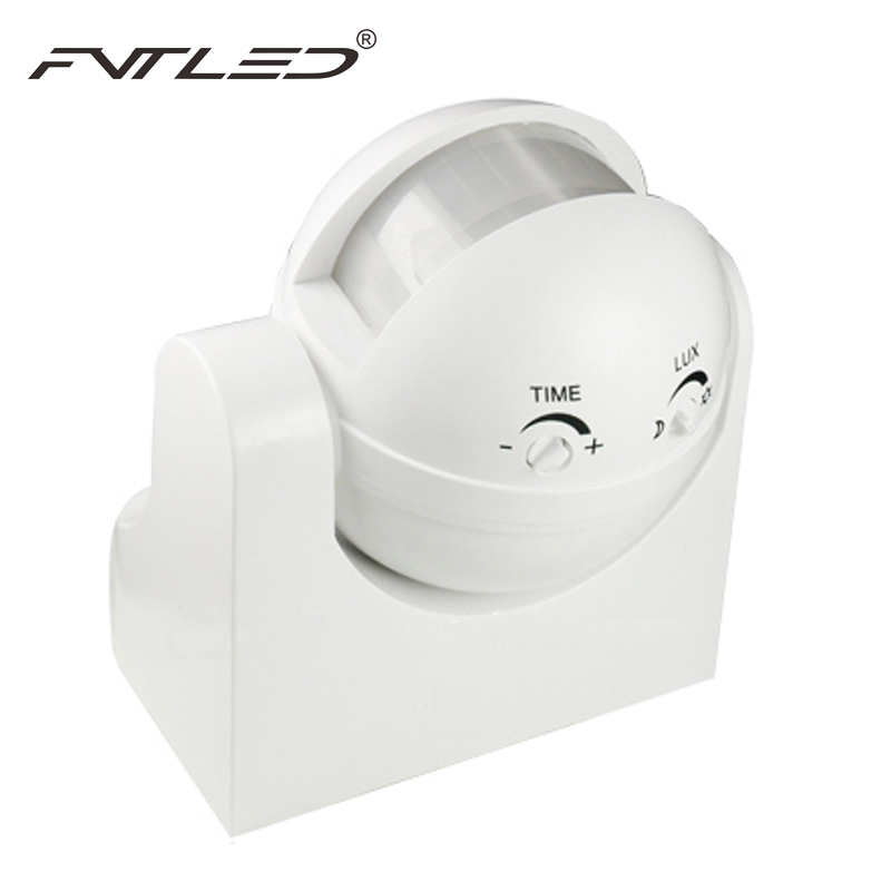 2pcs/lot  Body Sensor IR Infrared Sensors Switch Motion Detector Sensor Outdoor Lighting Energy Smart Waterproof Max Load 300W thyssen parts leveling sensor yg 39g1k door zone switch leveling photoelectric sensors
