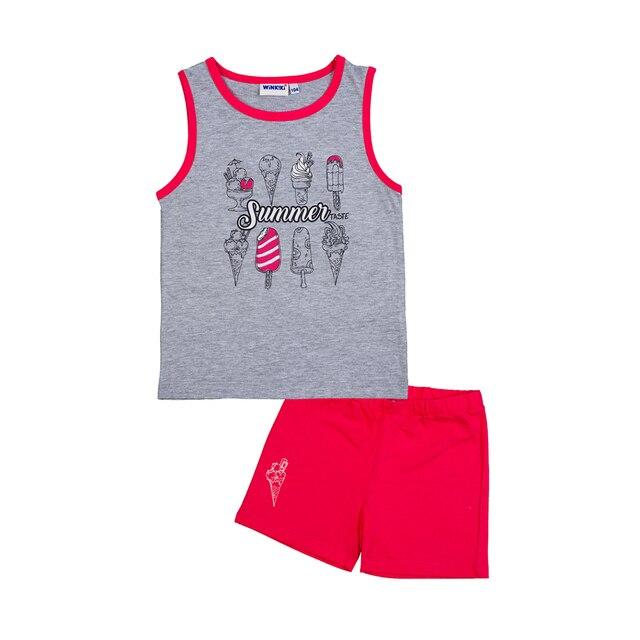 Пижама Winkiki для девочек (майка+шорты)