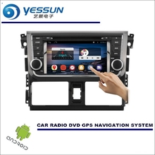 8 Core Android Car DVD Player Stereo For TOYOTA VIOS Yaris Radio GPS Navi 2014 +