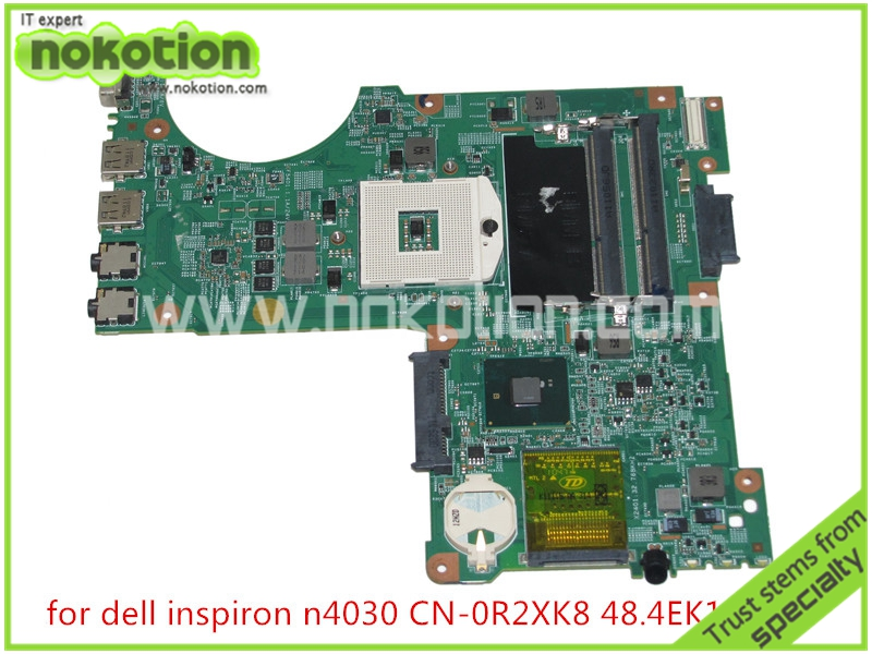 NOKOTION R2XK8 0R2XK8 CN-0R2XK8 48.4EK19.011 for board inspiron N4030 laptop motherboard HM57 DDR3NOKOTION R2XK8 0R2XK8 CN-0R2XK8 48.4EK19.011 for board inspiron N4030 laptop motherboard HM57 DDR3