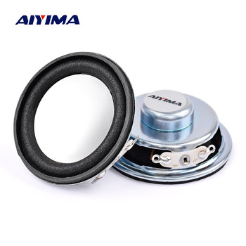 AIYIMA 2Pcs 1.75Inch 4 ohm 3W 45MM Audio Tweeters Speakers Full Range Neodymium Magnetic Round Audio Speaker DIY Accessories image
