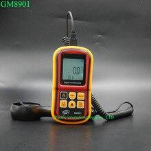 GM8901 Анемометр 45 м/с (88MPH) ЖК-Цифровой Термометр Электронный Ручной Скорость Ветра Gauge Метр
