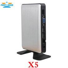 Причастником RDP8 тонкий клиент X5 для Окна Безвентиляторный Компьютер Облако VMware принтера USB 720 P онлайн видео