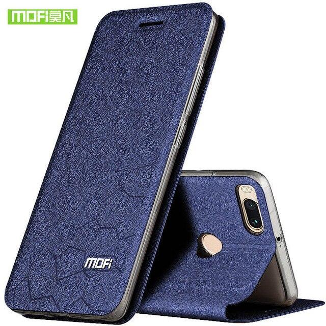 original Mofi Ultra thin Phone Case For Xiaomi Mi5x new luxury stand filp leather Cover For Xiaomi Mi 5x