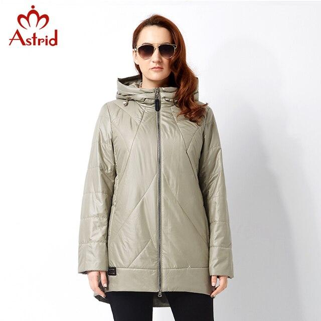 Астрид 2017 Весна и осень Женщина пальто Зимняя куртка Профессиональный плюс размер бренда Высокое качество женщин куртки Большой размер AM-2787