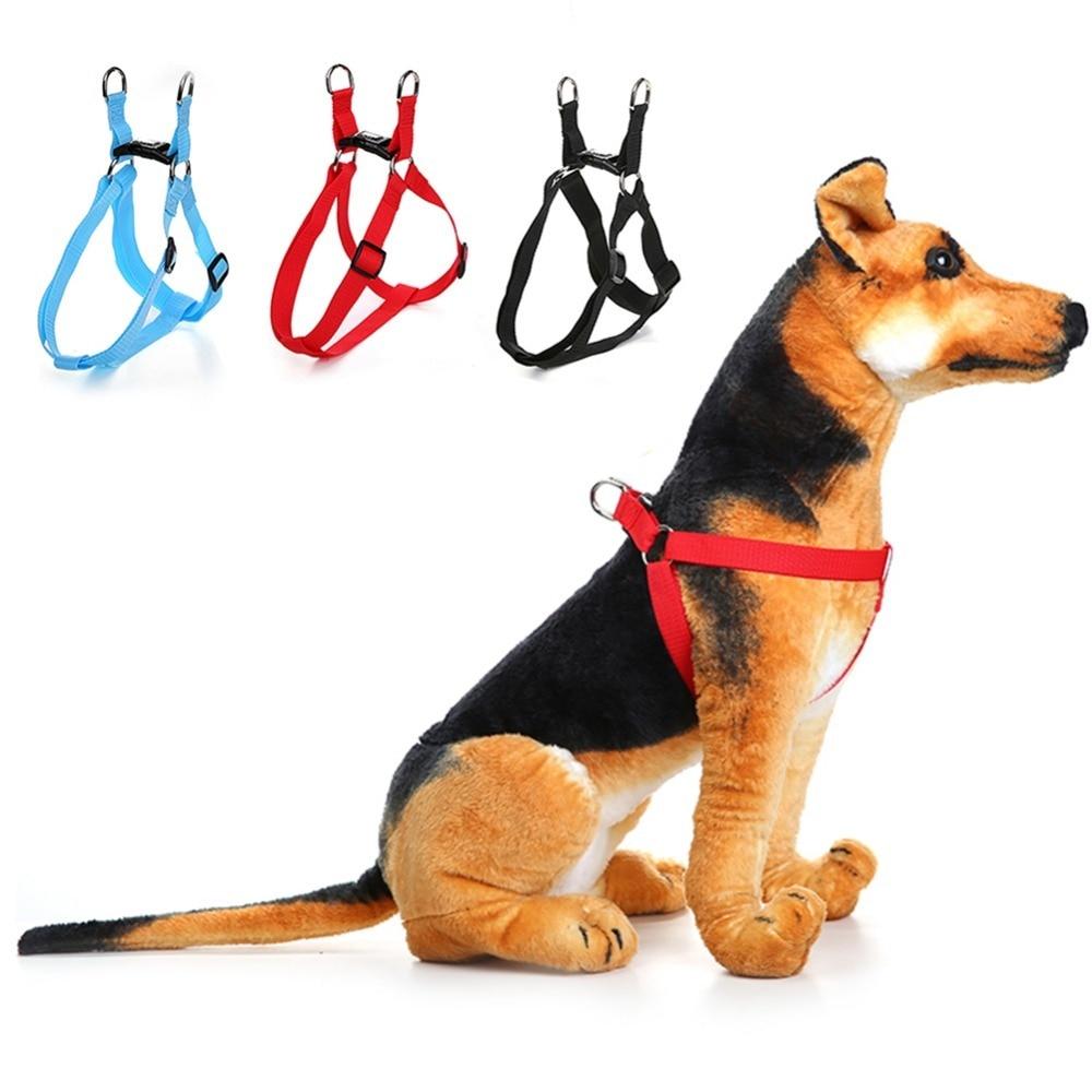 3 Color Explosion-proof Pet Harnesses for Large Dogs Pitbulls Pet Traction Rope Adjustable blunt Dog Strap Vest S M L