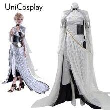 Kingsglaive Final Fantasy XV Lunafreya Nox Fleuret Dress Cosplay Costumes FF15 Woman Party Evening Dresses Halloween