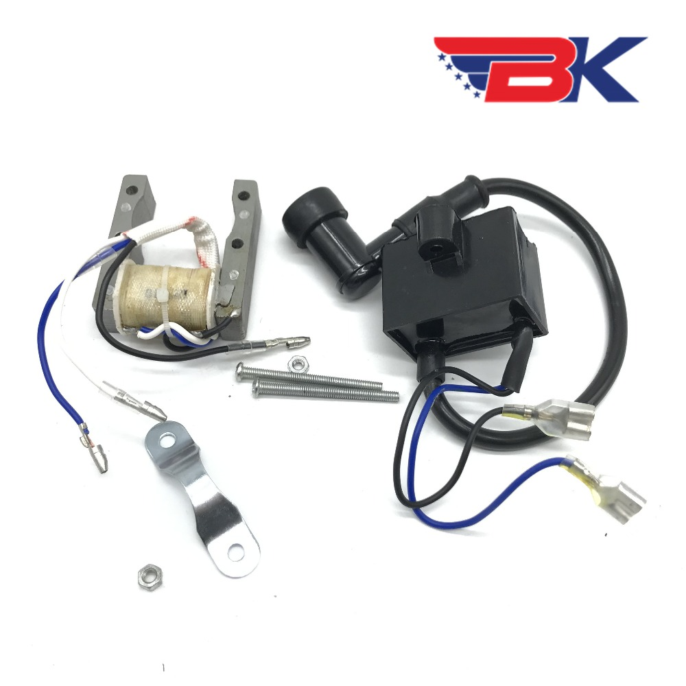 Magneto Stator /& Ignition Coil CDI Kit Fits 49cc to 80cc Motorized Bicycle Bike