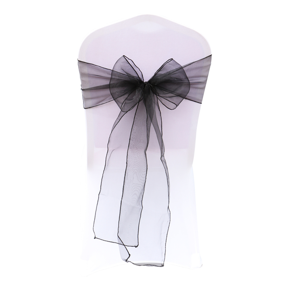Chair Cover Bows popular bow chair covers-buy cheap bow chair covers lots from