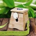 Free shipping Ai Square wooden utensils hole thick bamboo moxibustion moxibustion box a hole moxa box moxa box