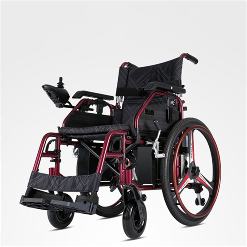 Image of: Manual Wheelchairs Four Wheel Electric Factory Electric Power Wheelchair Old People Supplies Aluminium Electric Wheelchair Aliexpresscom Four Wheel Electric Factory Electric Power Wheelchair Old People