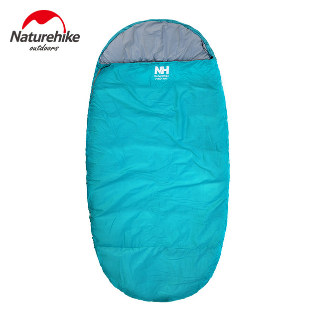 Naturehike big sleeping bag Large space sleeping bags pancake Style NH Camping Hiking Portable sleeping bag