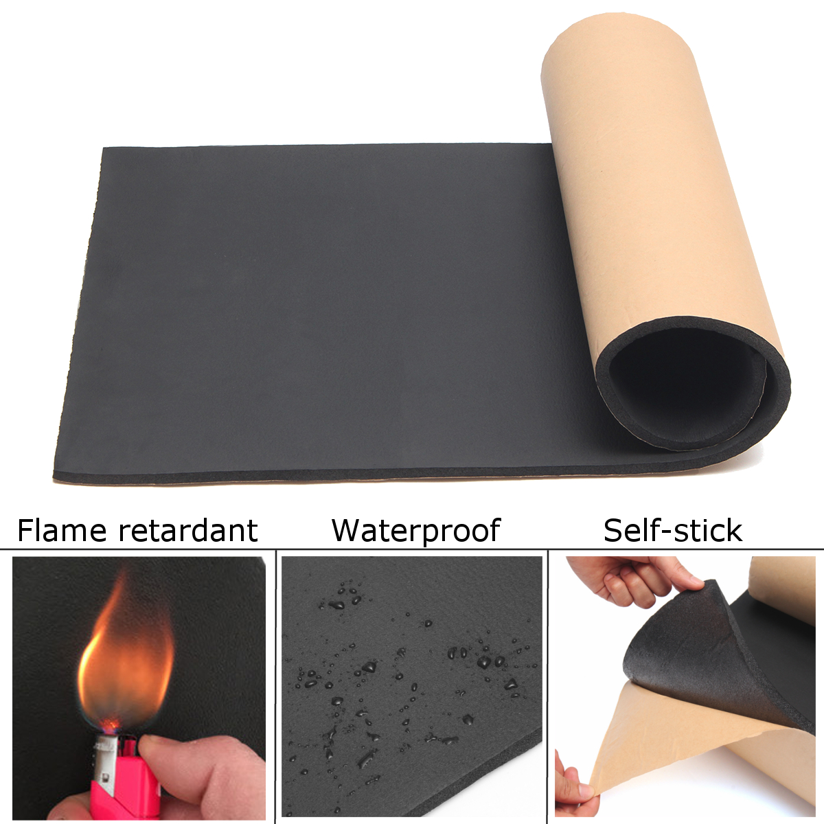 self-adhesive-closed-cell-foam-sheets-soundproof-insulation-home-car-sound-acoustic-insulation-thermal-1m-x-50cm-x-10mm-thick