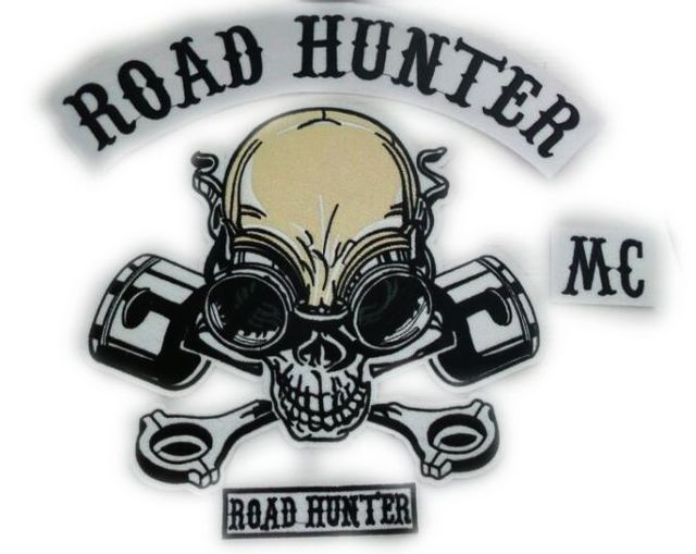 cbb73a320c MC ROAD HUNTER SKULL LARGE PATCH 14