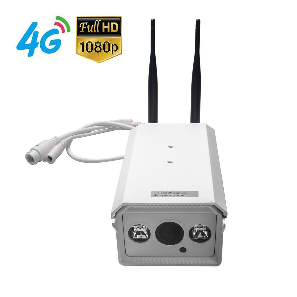 Envío gratis 4G Mobile Bullet 1080P HD Cámara IP con red 4G FDD LTE - Seguridad y protección