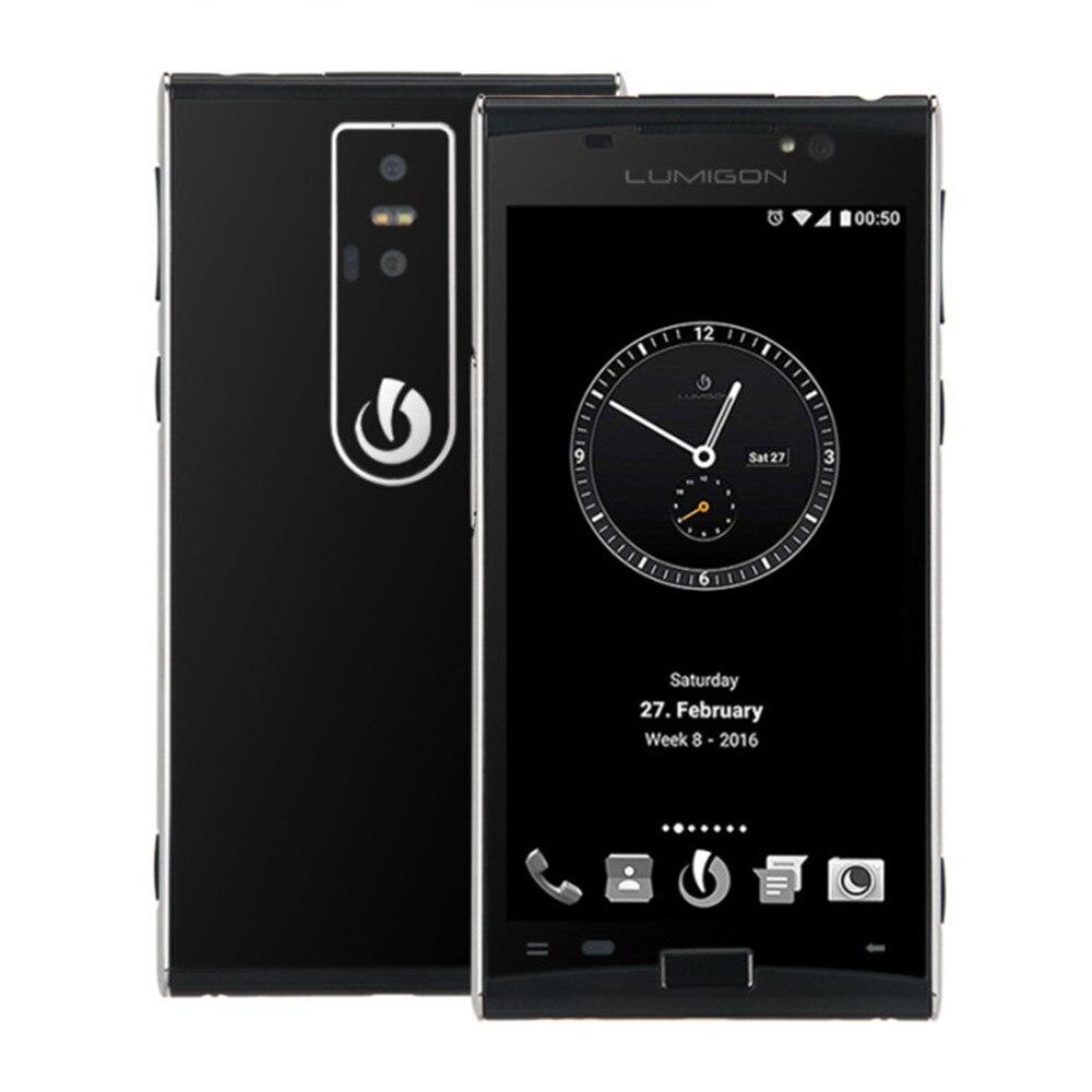 LUMIGON T3 3 GB di RAM 128 GB di ROM MTK6795 2.0 GHz Octa Core Da 4.8 Pollici HD Dello Schermo di Android 6.0 4G LTE Smartphone