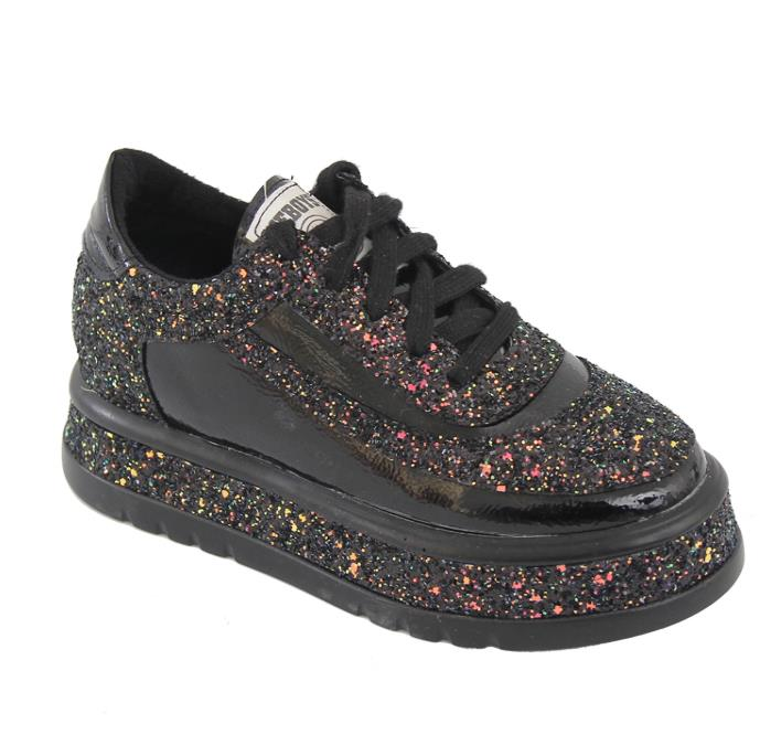 2019 mode chaussures femme diamant appartements chaussures décontractées femmes Slip Sneakers argent mocassins cristal cuir fille formateurs - 6
