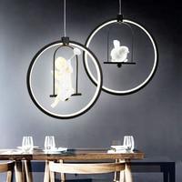 Creative Art Designer Chandelier Lights 5 Style Optional Modern LED Lamps Fixtures For Living Room Bedroom