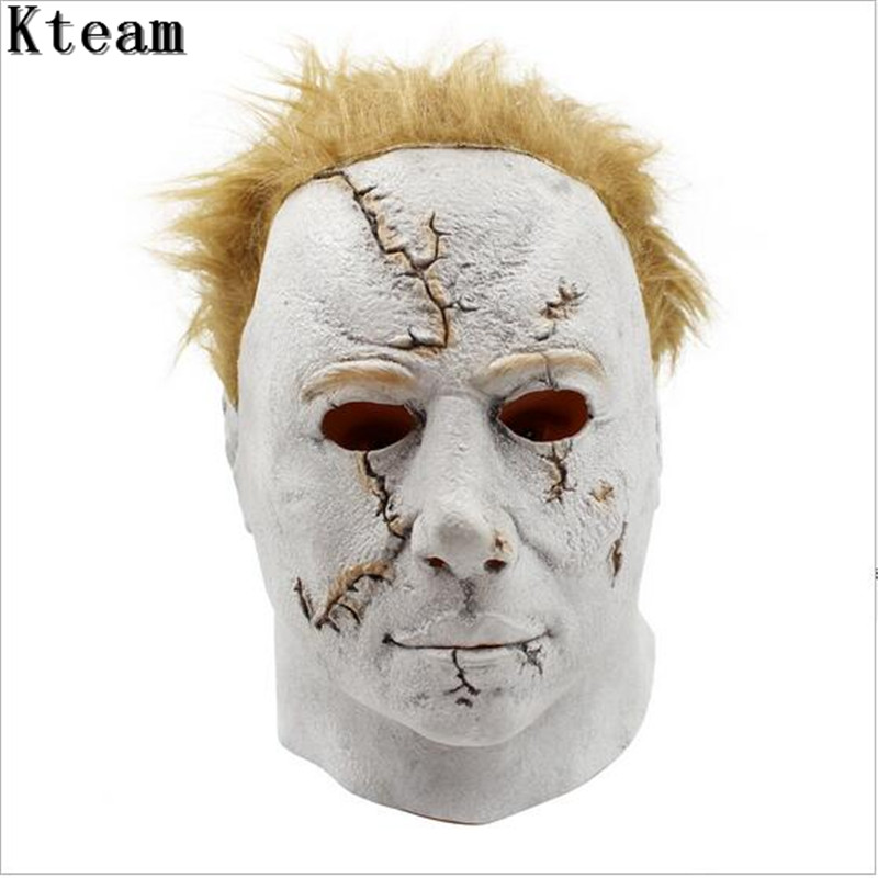 Hot Sale Halloween Carniaval Character Scary Movie Theme Face Mask Movie Cosplay Latex M ...