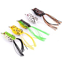 5pcs Fishing Lure Mixed 5 Models Fishing Tackle 5 Color 5 8g 4 2cm Frog Lure