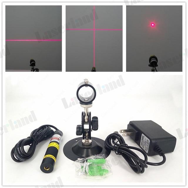 Linha de ponto vermelho feixe transversal, 10mw 50mw 100mw 150mw 200mw 648nm 650nm, módulo laser dispositivo de marcação de luzes de posicionamento