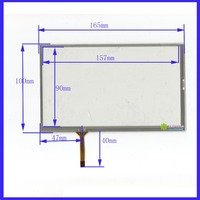 069044 7 Inch Touch Screen Welding 165mm 100mm For GPS CARS 165 10 For Bables For