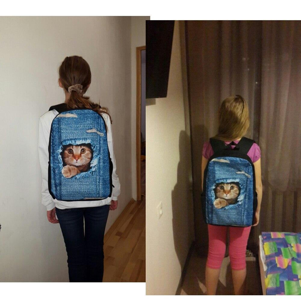 Купить с кэшбэком FORUDESIGNS Men's Backpacks 3D Music Note Pattern School Backpack Men Large Laptop Backpack Kids's Bolsa Bagpack for Student Bag