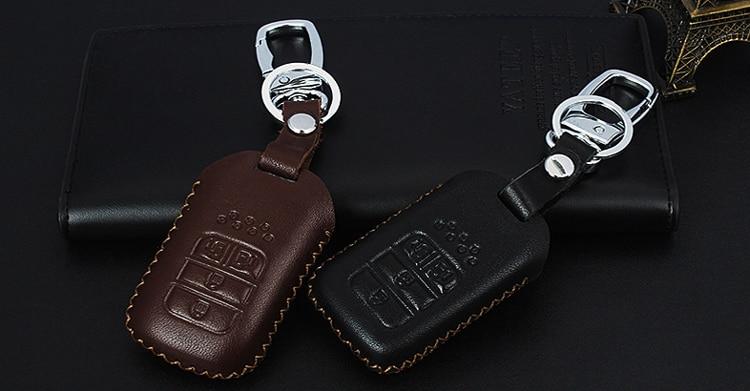 Inteligentna Skóra Samochodów / składane Klucz Case Fob Pokrywa - Akcesoria do wnętrza samochodu - Zdjęcie 4