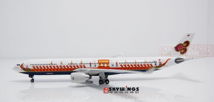 Phoenix 10633 Thailand Airlines HS-TEK Dragon Boat 1:400 A330-300 commercial jetliners plane model hobby sale phoenix 11221 china southern airlines skyteam china b777 300er no 1 400 commercial jetliners plane model hobby