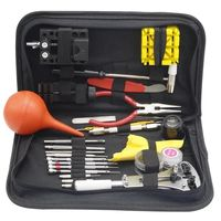 27pcs/set Watch Repair Tools Kit Multi function Watch Tool Set With Black Case Change Watches Accessories for Watchmakers