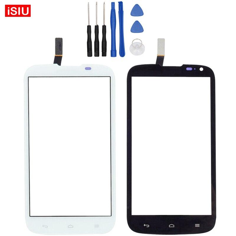 Neue 5,0 Zoll Für Huawei Ascend G610/C8815/G610-U20 LCD Touchscreen  Objektiv Glas Äußere Vorder