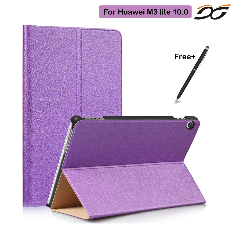 Case for 2017 Huawei MediaPad M3 Lite 10 Tablet Protective Cover Case for Huawei Tablet M3 10.0 BAH-W09 BAH-AL00 smart ultra stand cover case for 2017 huawei mediapad m3 lite 10 tablet for bah w09 bah al00 10 tablet free gift