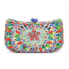 LaiSC Fabrik bunte handtaschen luxus braut diamante geldbörse strass Partei Prom Abendessenbeutel SC218