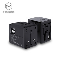 Mcdodo New Universal Travel Adapter Electric Plugs Sockets Converter US AU UK EU With Dual USB