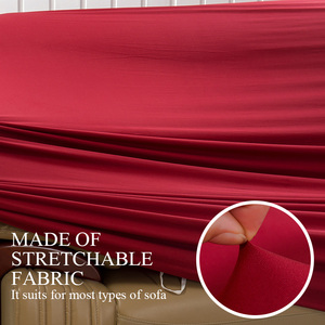 Image 5 - Stretch Cover for Armchair Sofa Couch Living Room 1 Seat Sofa Slipcover Single Seater Furniture Couch Armchair Cover Elastic