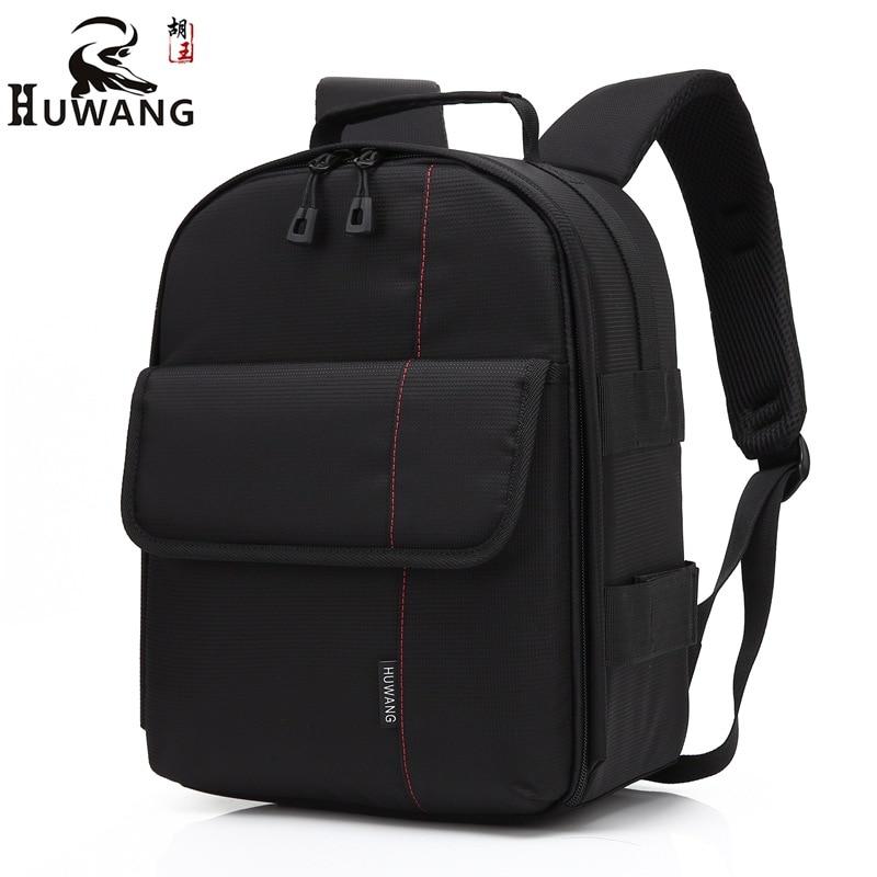 Waterproof Photographer Multi functional Digital DSLR Camera Bag Rain Cover Small SLR Camera Laptop Tripod Bag for Canon Nikon