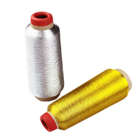 1PCS High Quality 3000M Yards Sewing Thread Cross Stitch Thread Overlocking Sewing Machine Gold And Silver