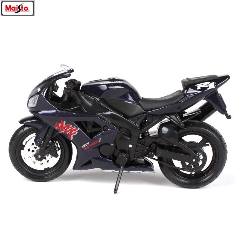Maisto 1:18 Yamaha YZF-R1 original authorized simulation alloy motorcycle model toy car